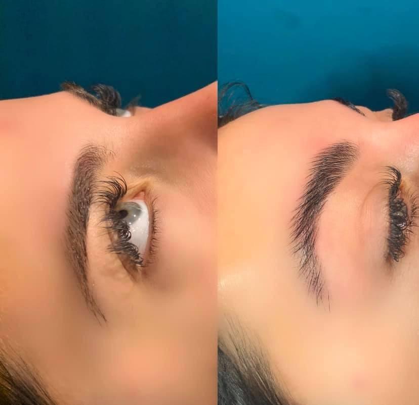 brow-lamination